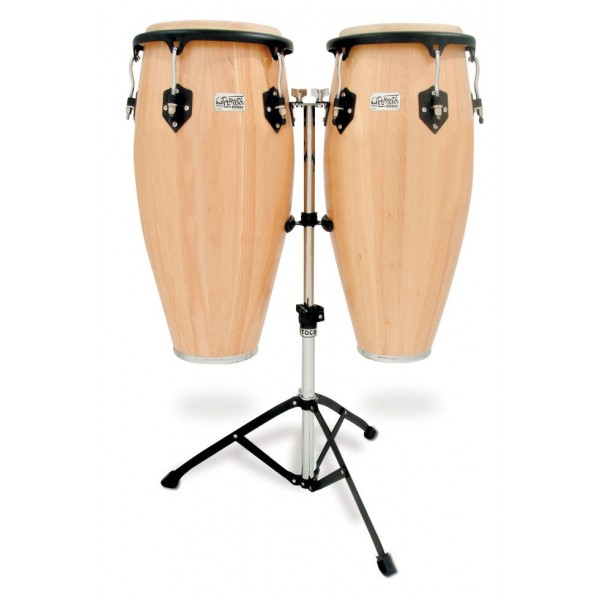 2800N Toca Player's Series Wood Conga Set with Double Stand