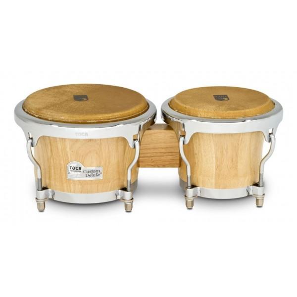 4600-NW Toca Custom Deluxe Wood Bongos