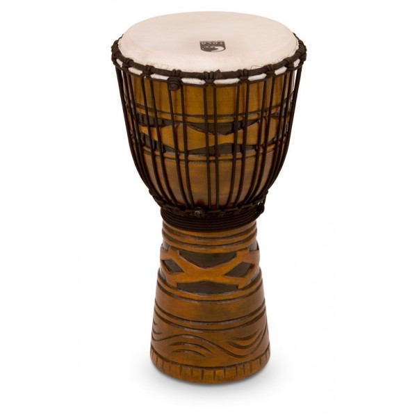 "TODJ-12AM Toca Origins Series Rope Tuned Wood 12"" Djembe"