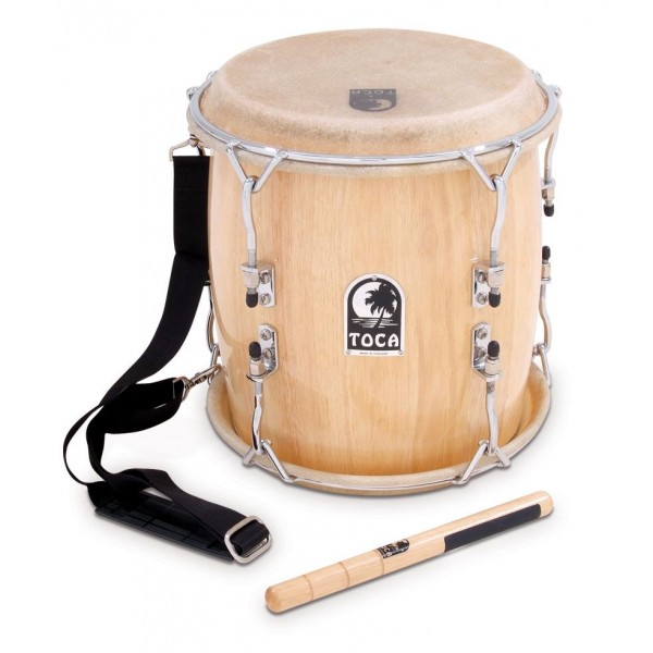 Toca TTAM-N  Pro Wood Tambora with Strap and Beater