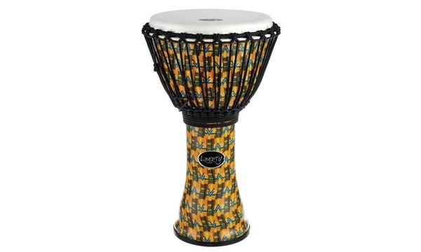 Gewa 7'' Djembe Liberty Rope Tuned Abstract Kente