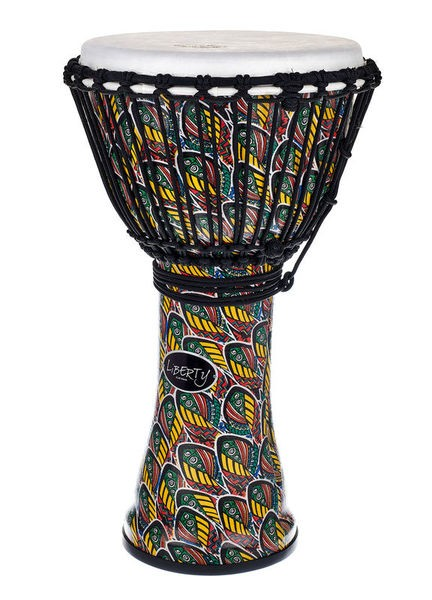 Gewa 7'' Djembe Liberty Rope Tuned Peacock