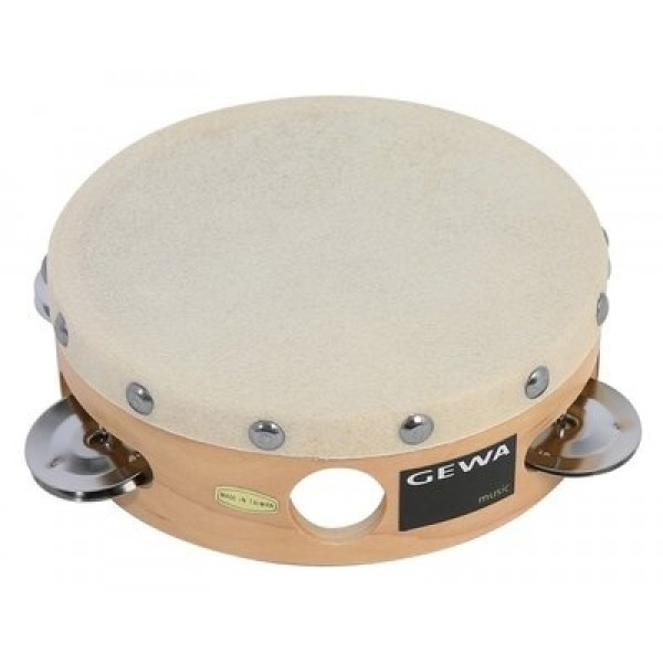 Tambourine Traditional With Shells 8'' Gewa