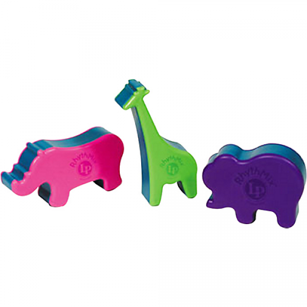 LPR472-I RhythMix Animal Shakers 3-Piece Set