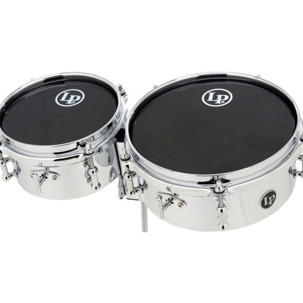 LP845-K LP Mini Timbales/Chrome Plated Steel
