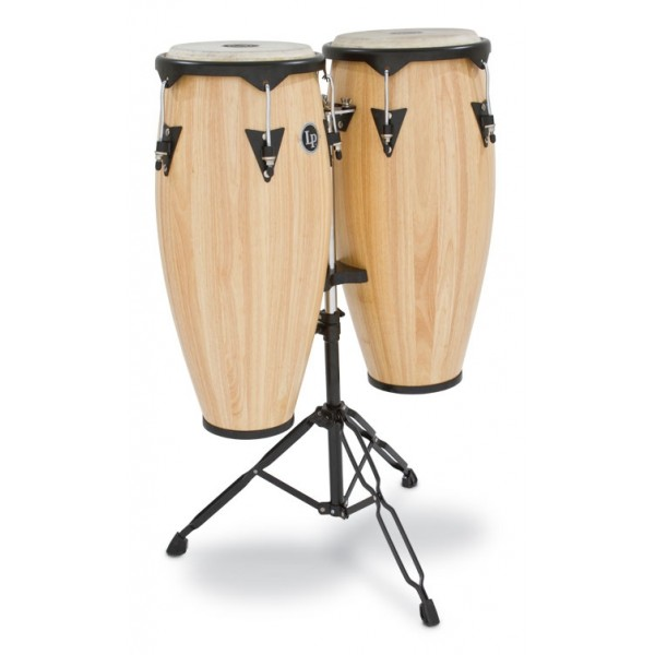 LP646NY-AW  LP City Wood Congas Set, Natural