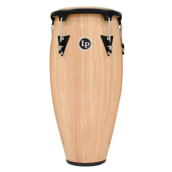 "LPA612-AW LP Aspire Wood 12"" Tumbadora, Natural/Black Conga"