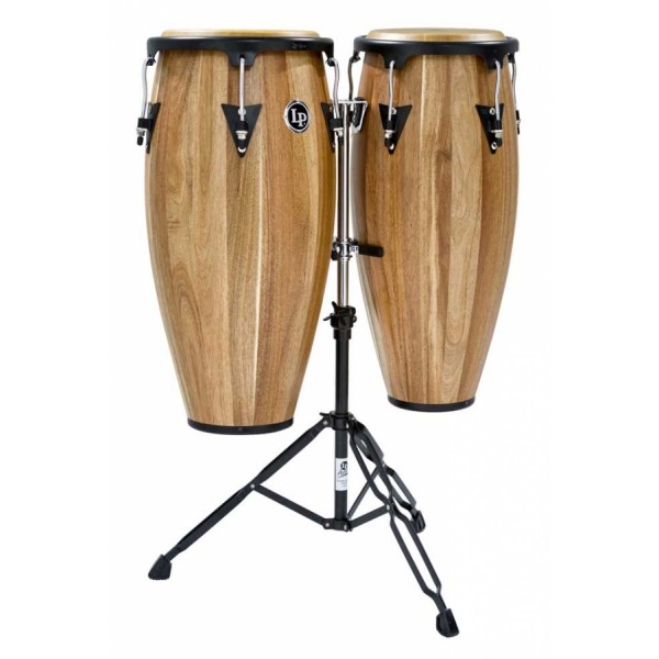 LPA646-SW LP Aspire Jamjuree Wood Conga Set