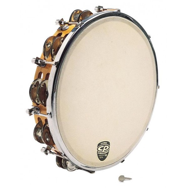 "CP391 10"" CP by LP Tunable Wood Tambourine"