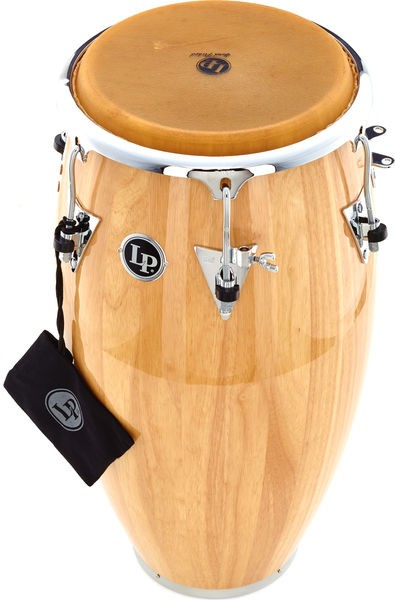 LP559X-AWC LP Classic Series Wood Conga 11-3/4'' Natural/Chrome