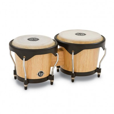 LP601NY-AW  LP City Wood Bongos, Natural