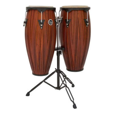 LP646NY-CMW LP City Series Conga Set With Stand