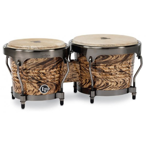 LPA601-HC  LP Aspire Havana Café wood bongo