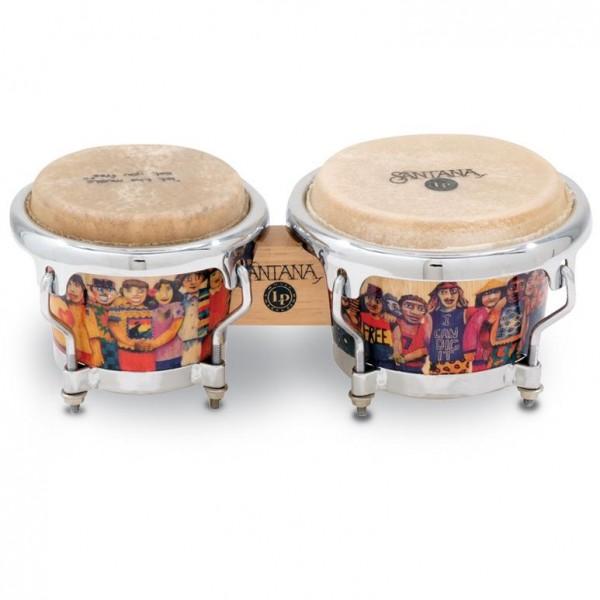 LPM200-AW LP Music Collection Santana Mini Tunable Bongos
