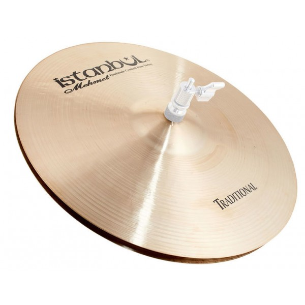 Istanbul Mehmet 14'' Flat Hole Bottom HiHat Traditional Series