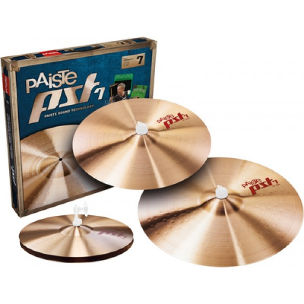 Paiste PST7 Medium Cymbal Set