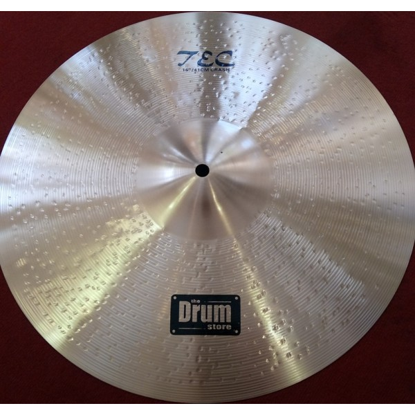 TEC 16'' Double Hammered Crash Cymbal DRUMstore