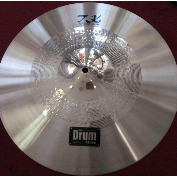 TK 16'' Double Hammered Crash Cymbal DRUMstore
