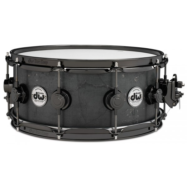 DW Limited Edition Snare 14''x6'' Black Iron