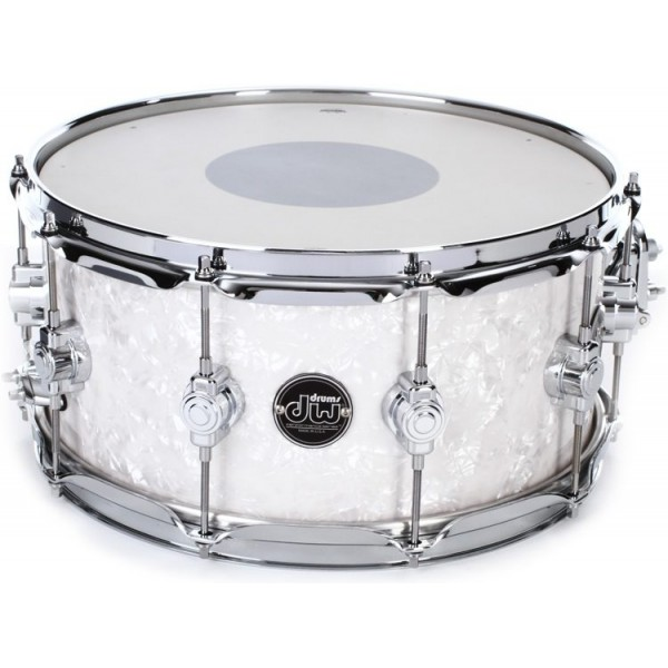 "DW Performance Series Snare 14""x6.5"" White Marine"