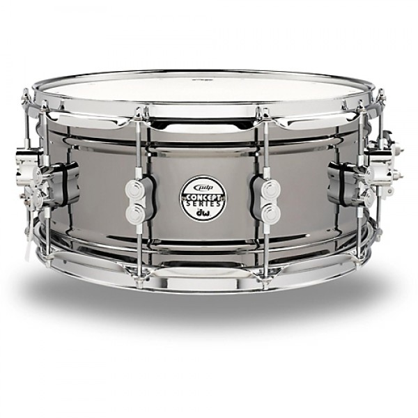 PDP Black Nickel Over Steel 14''x6.5'' Snare Drum