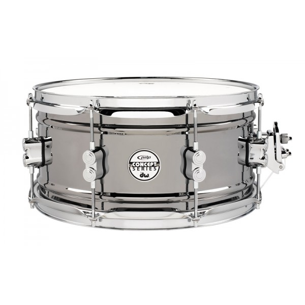 PDP Black Nickel Over Steel 13''x6.5'' Snare Drum