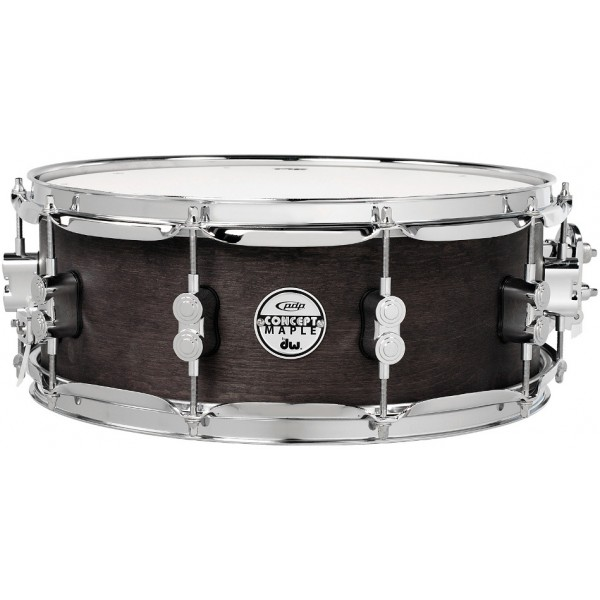 PDP Black Wax Maple 13''x5.5'' Snare Drum