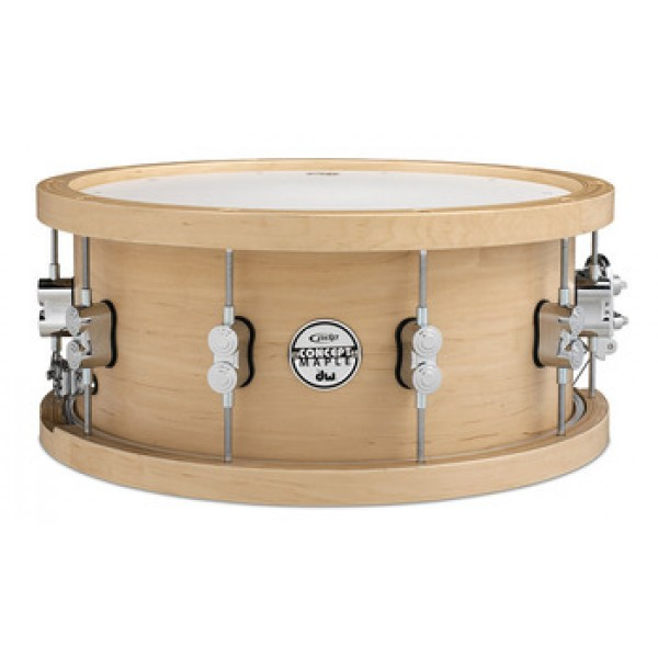 PDP Concept Series Wood Hoop 20-ply Maple Snare 14x6.5''