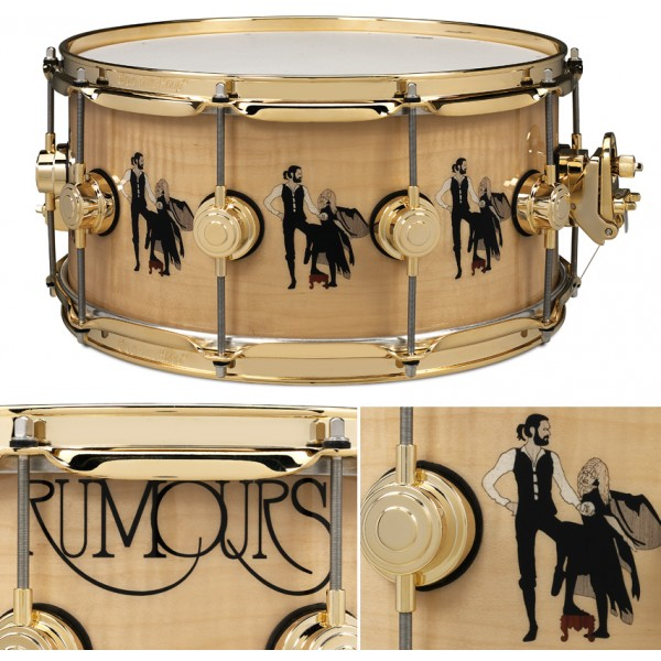 "DW Limited Edition 14''x6.5'' ""Rumours"" Snare"