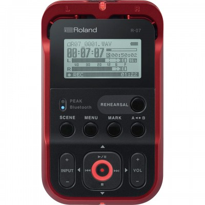 Roland R-07-RD High-Resolution Audio Recorder
