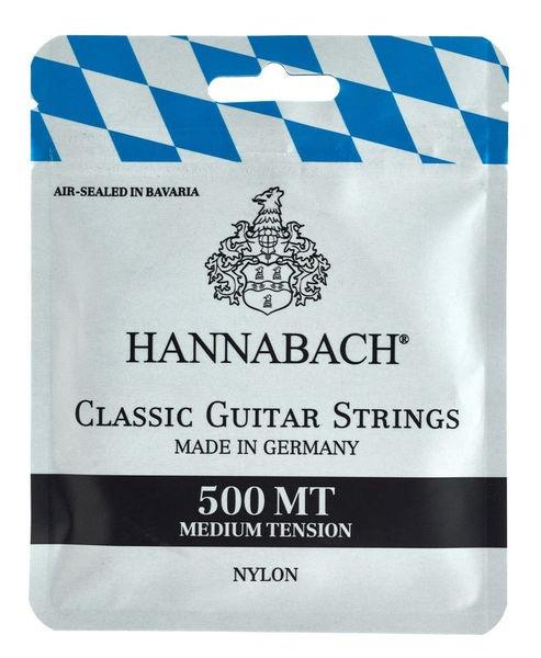 Hannabach 500MT Classical Guitar Strings Medium Tension