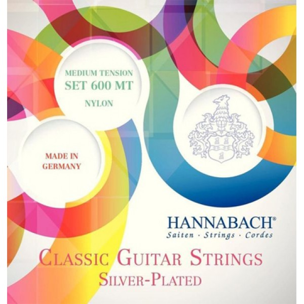 Hannabach 600MT Classical Guitar Strings Medium tension