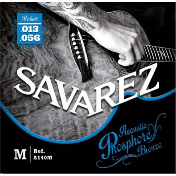 A140M Ph. Bronze Acoustic guitar Medium set Savarez 13-56