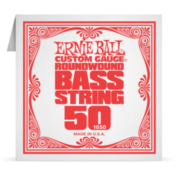 Ernie Ball 050 Nickel Wound Bass 1650