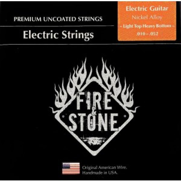 Fire&Stone Electric Strings Nickel Alloy Heavy Bottom 10-52