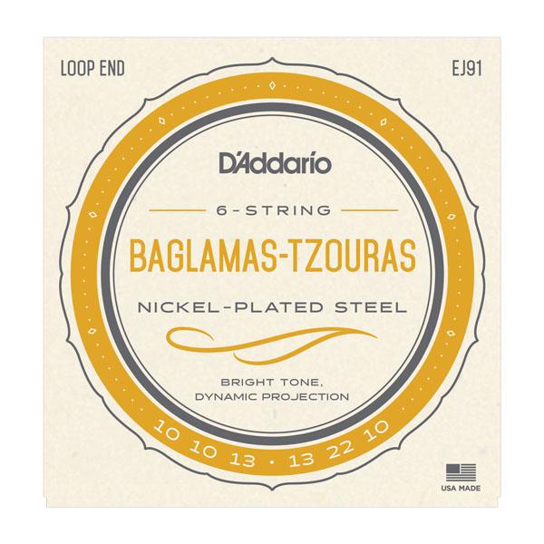 Daddario EJ91 Baglamas-Tzouras