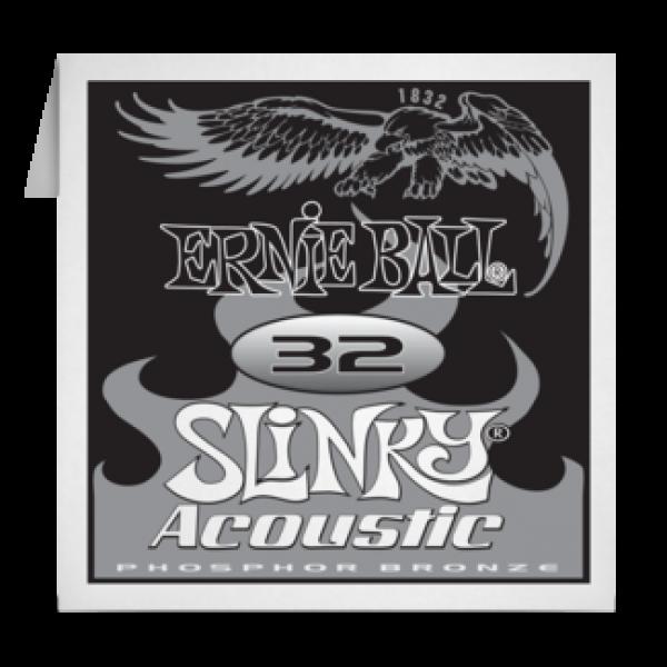 Ernie Ball 032 Slinky Acoustic Guitar Phosphor bronze