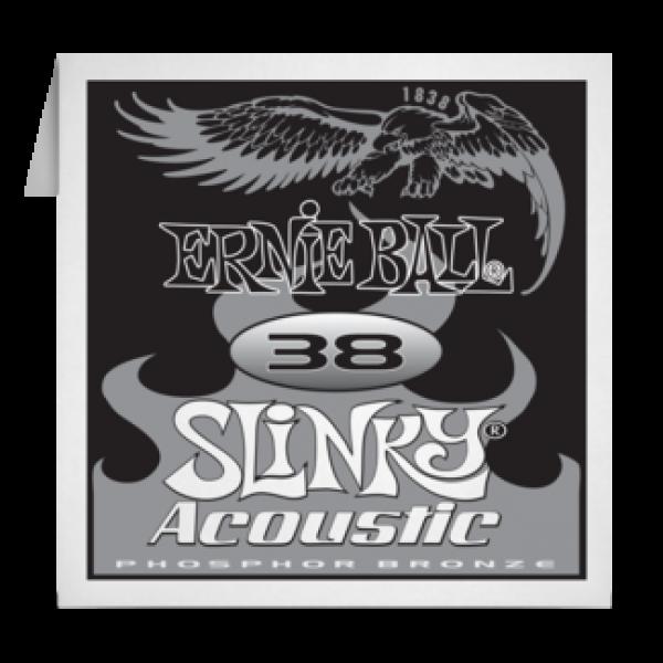 Ernie Ball 038 Slinky Acoustic Guitar Phosphor bronze