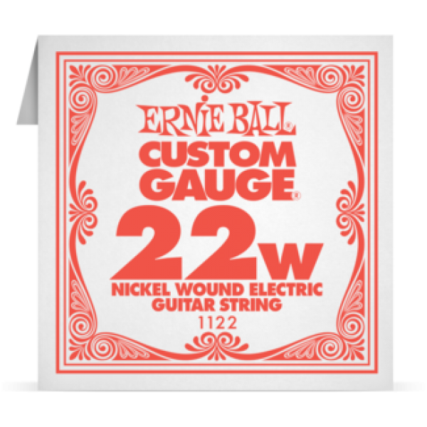 Ernie Ball 022W Nickel Wound Electric and Acoustic Guitar 1122