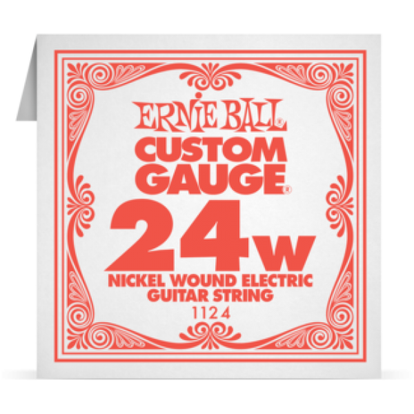 Ernie Ball 024W Nickel Wound Electric and Acoustic Guitar 1124
