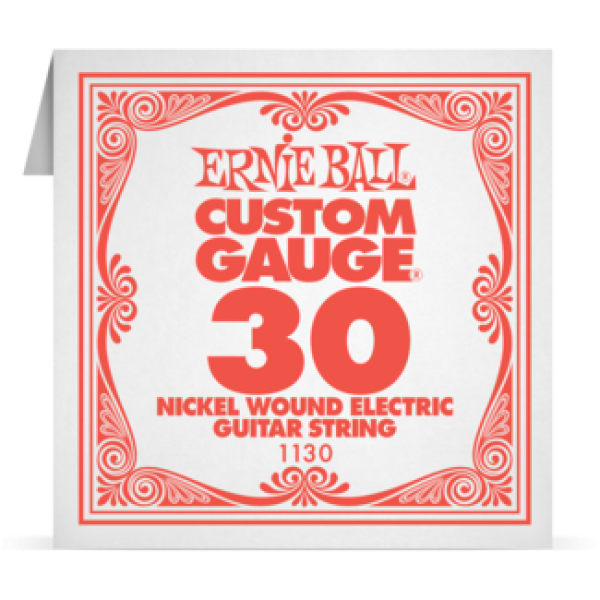 Ernie Ball 030 Nickel Wound Electric and Acoustic Guitar 1130