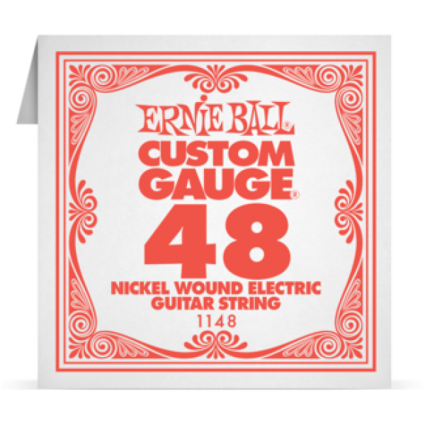 Ernie Ball 048 Nickel Wound Electric and Acoustic Guitar 1148
