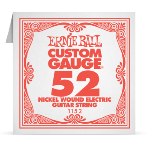 Ernie Ball 052 Nickel Wound Electric and Acoustic Guitar 1152