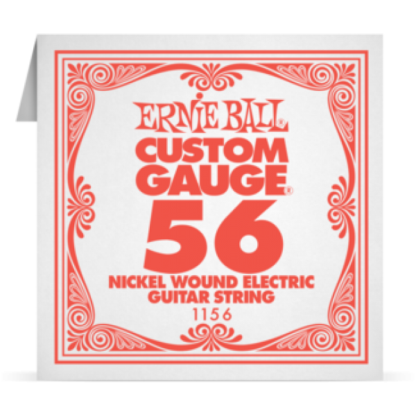 Ernie Ball 056 Nickel Wound Electric and Acoustic Guitar 1156