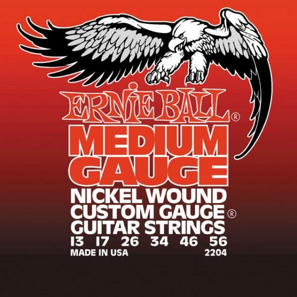 Ernie Ball Nickel Wound 2204 13-56