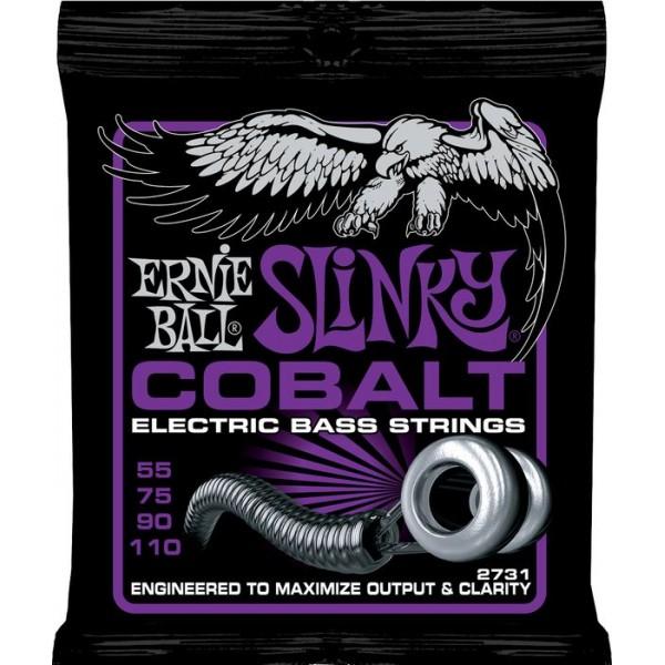 Ernie Ball Power Slinky Cobalt Bass Strings 55-110 2731
