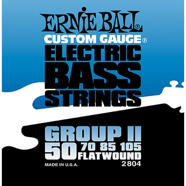 Ernie Ball Flatwount Group ΙΙ  Bass Strings 50-105 2804