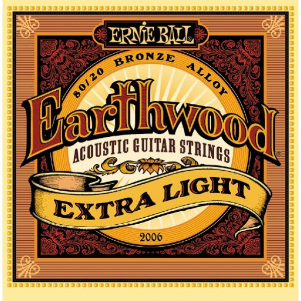 Earthwood Extra Light Acoustic 80/20 Bronze 2006 10-50