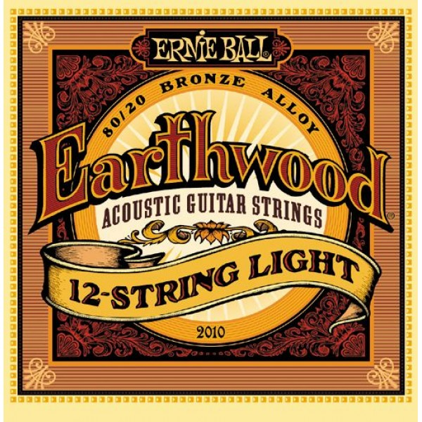 Ernie Ball Earthwood 12-String Light Acoustic 80/20 Bronze 2010