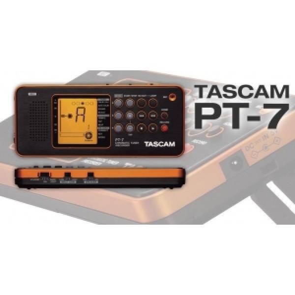 Κουρδιστήρι Μετρονόμος Tascam PT-7 chromatic,memo recorder
